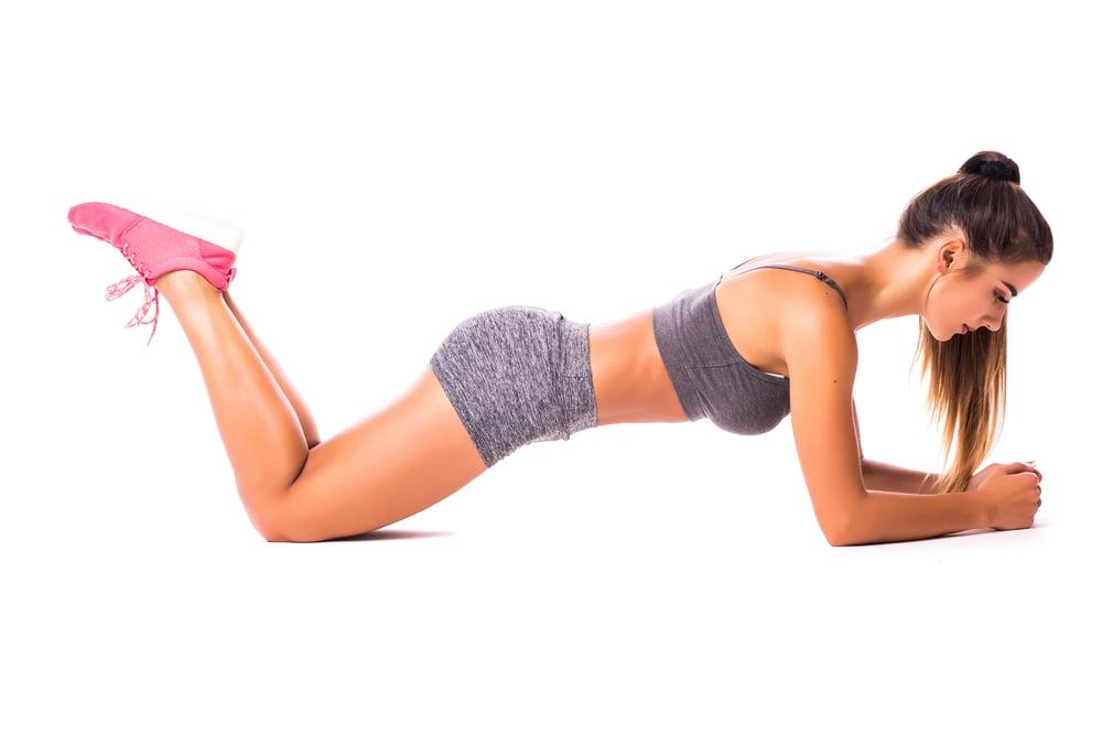 knee plank exercises