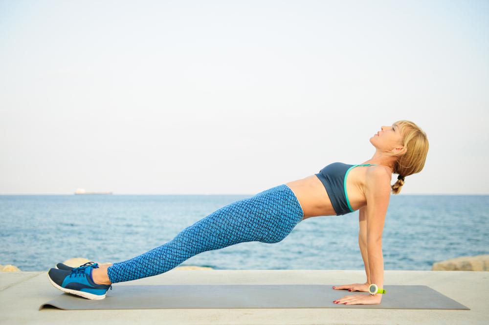 reverse plank exercises