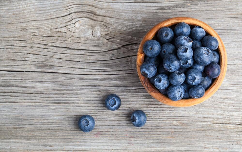 blueberries fat
