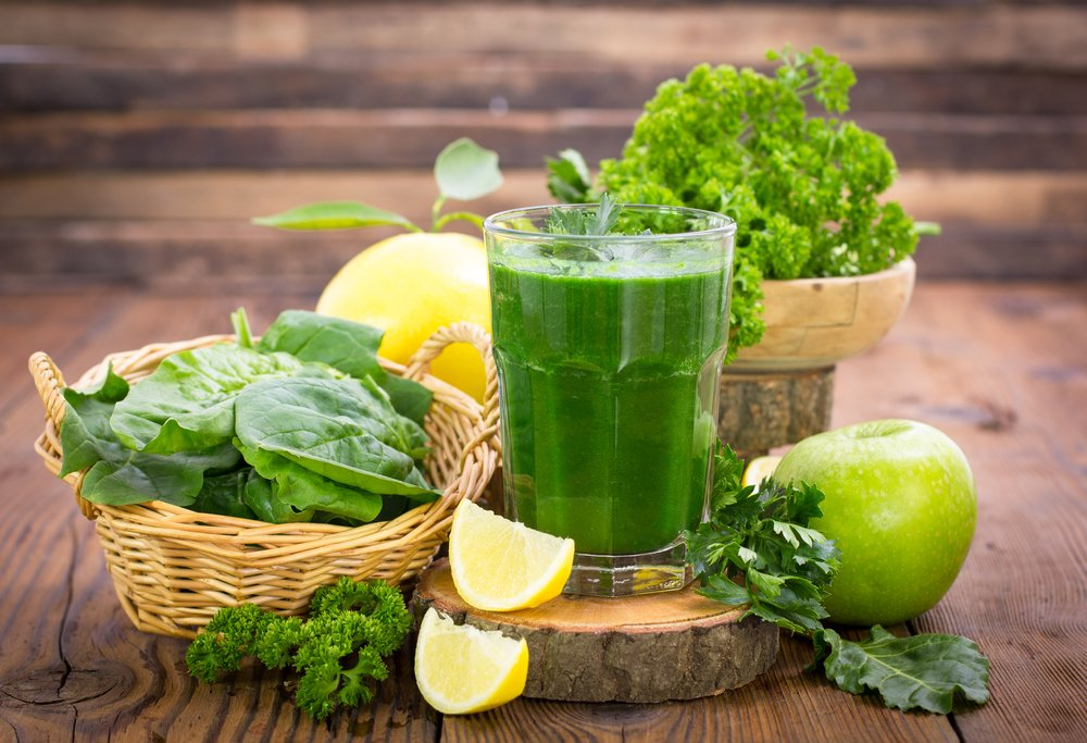 green detox juices