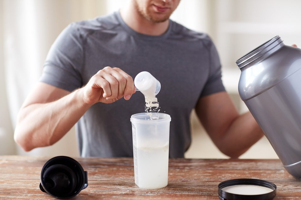 protein shakes gain weight