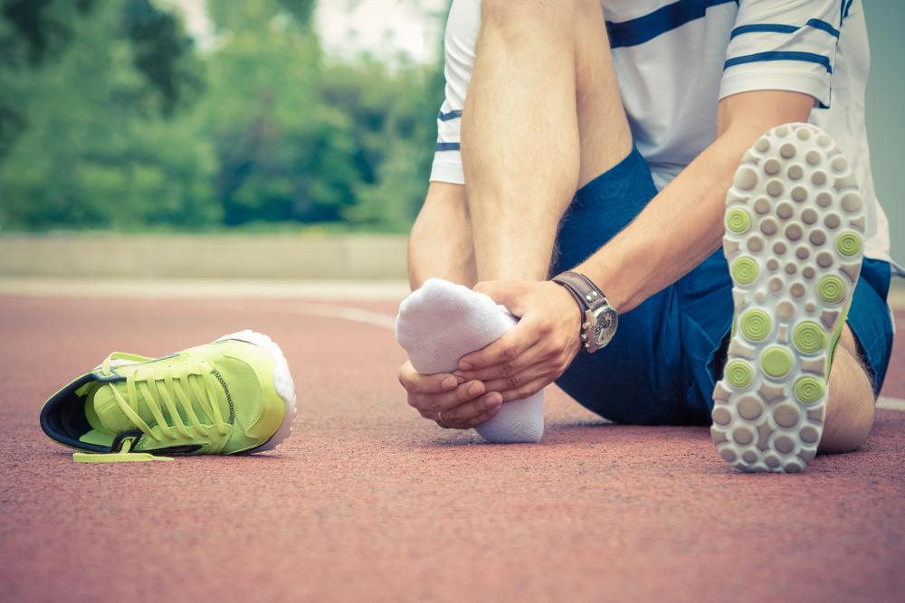 spurs sore feet