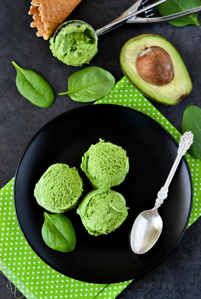 dessert avocados