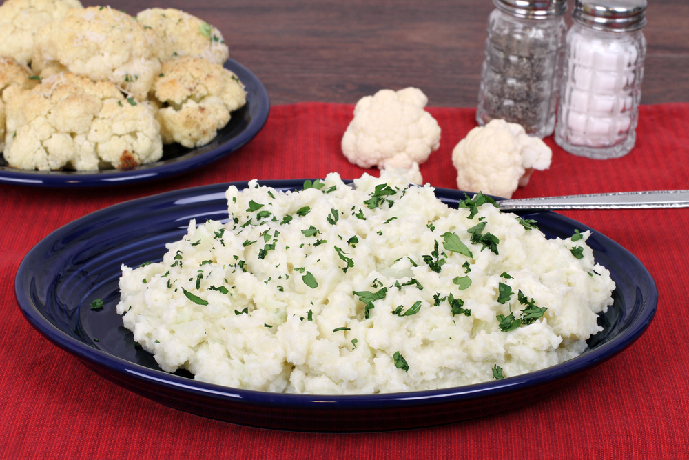 garlic mash cauliflower recipes