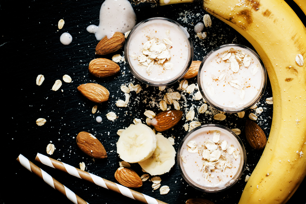 almond butter protein shakes