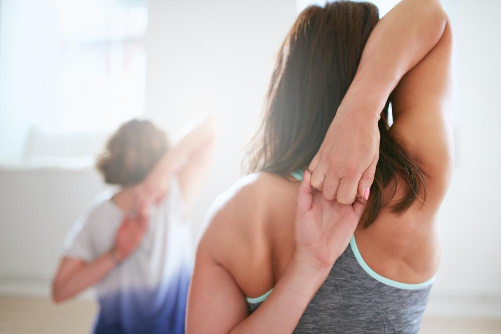 exercising Adhesive capsulitis