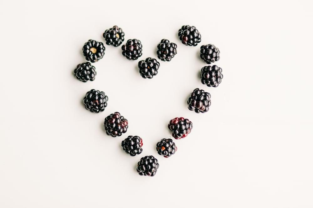 inflammation eat blackberries