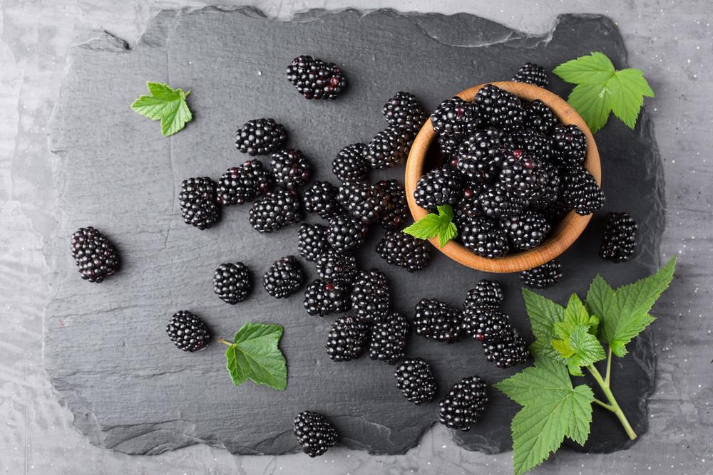cancer eat blackberries
