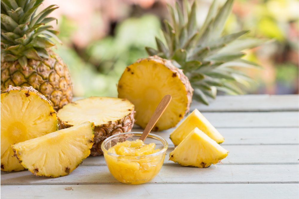 aiding in digestion Pineapple
