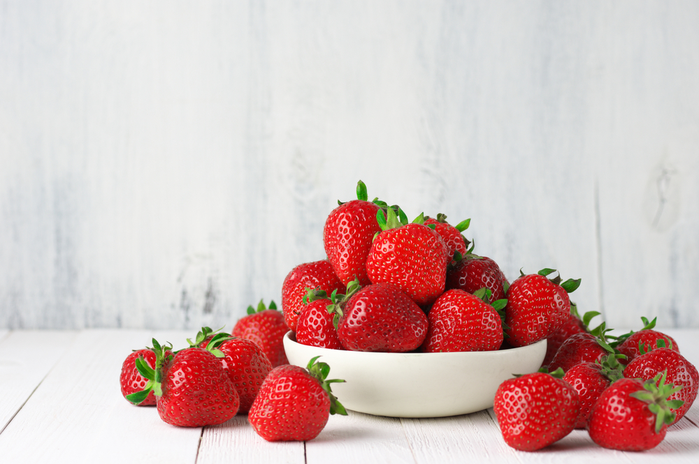 weight loss strawberries