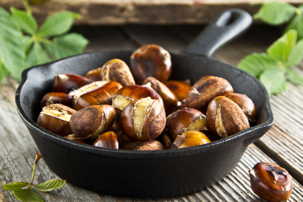 Chestnuts are Easy to Prepare