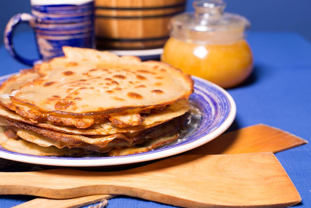 Ditch White Flour for Buckwheat Pancakes & Waffles