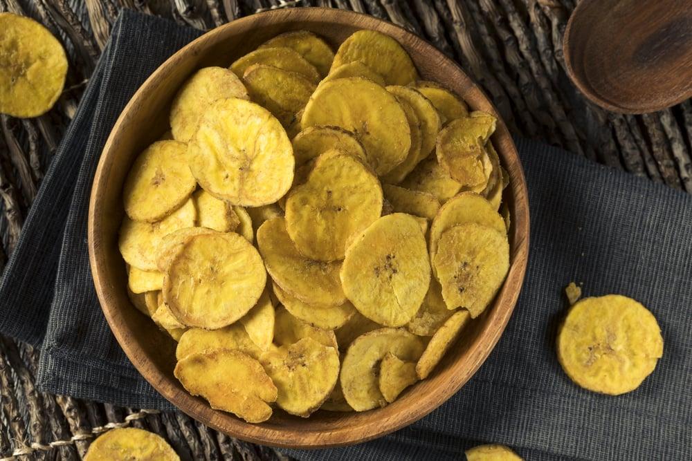 Healthy alternative to potato chips