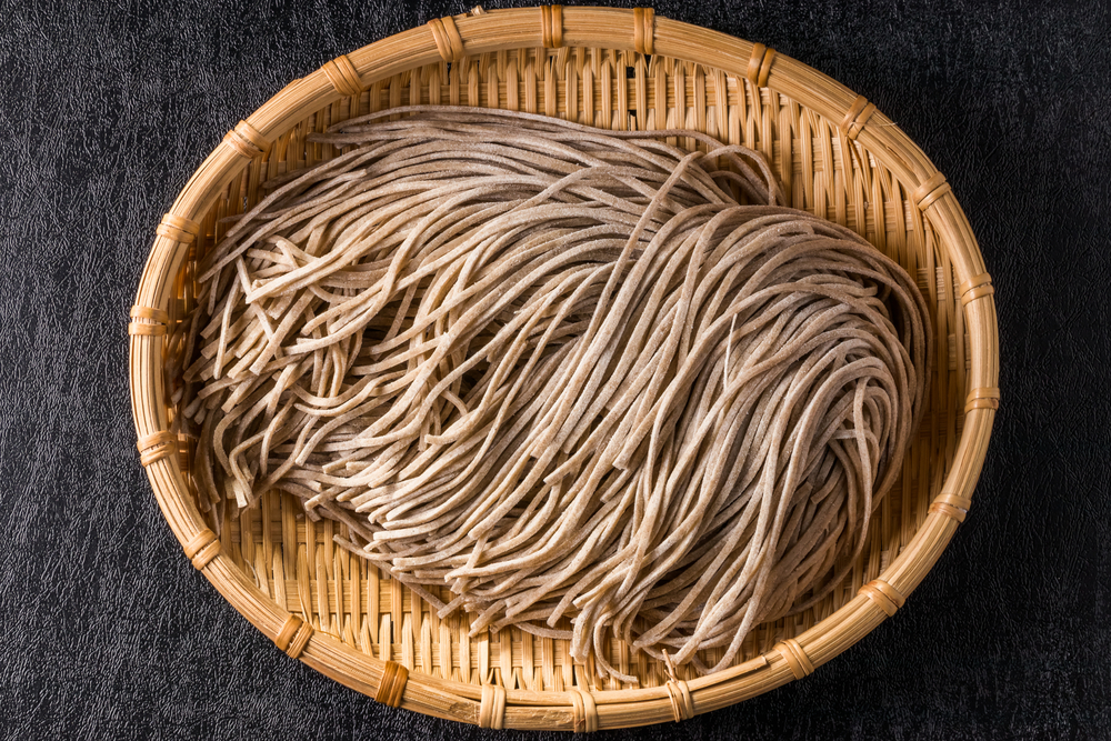 Nutritional content of soba noodles