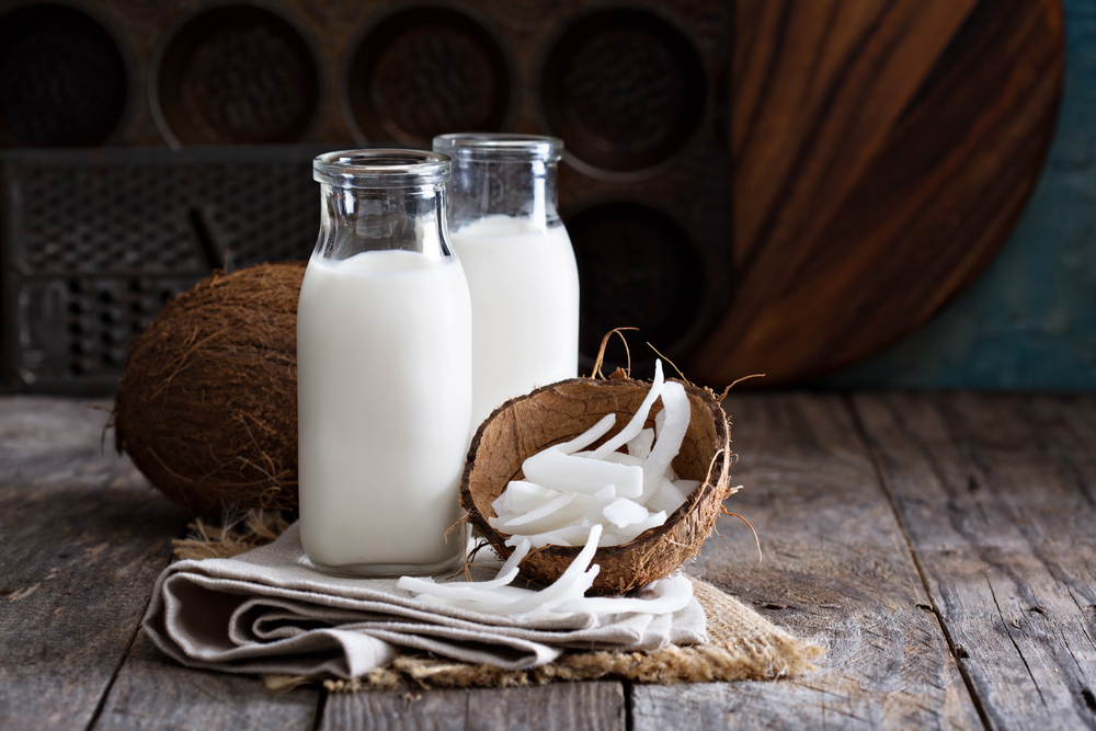 Soothe Ulcers with Coconut Milk