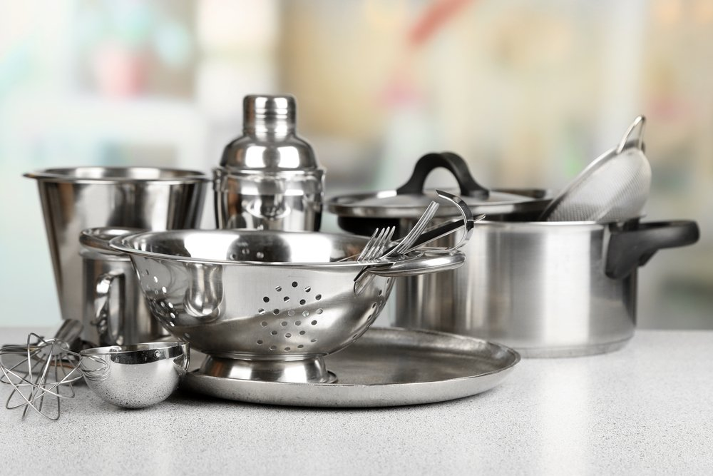 Use More Stainless Steel And Nickel When Cooking