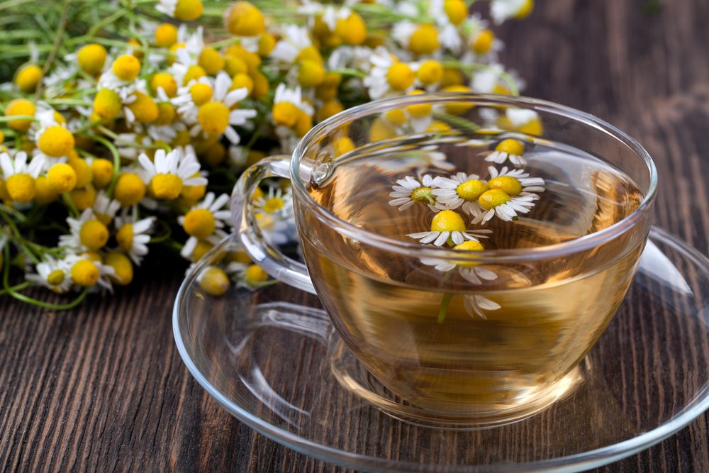 digestion chamomile tea