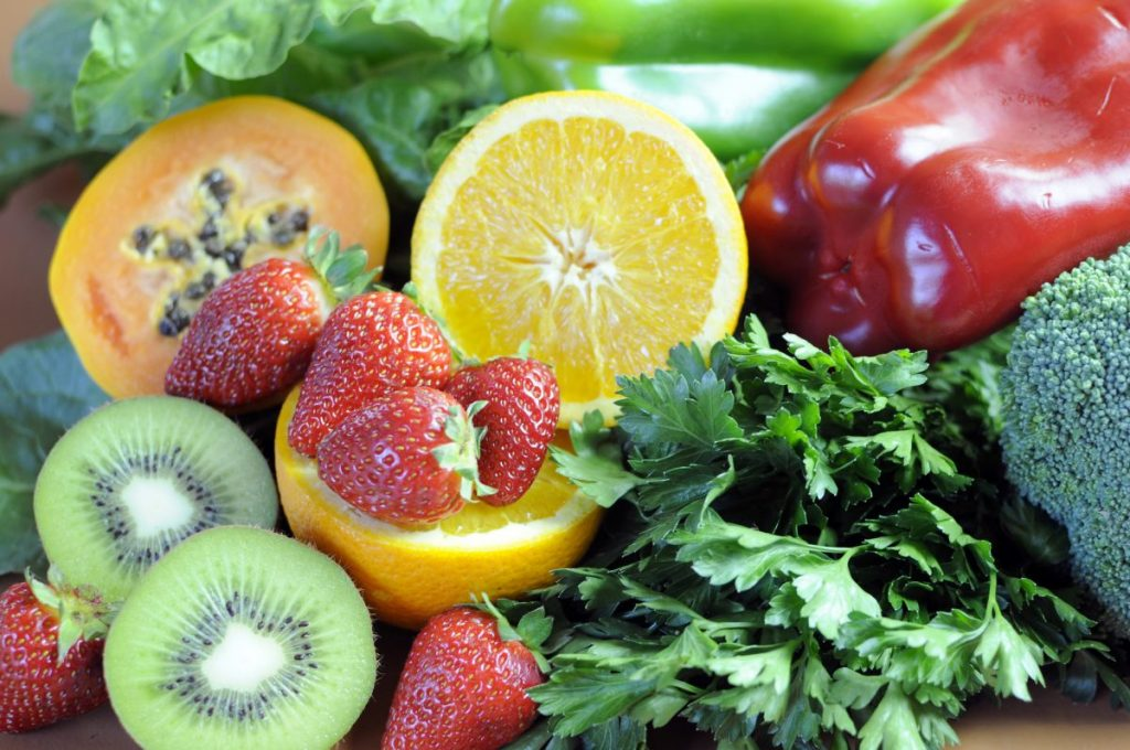 vitamin sources fruits vegetables