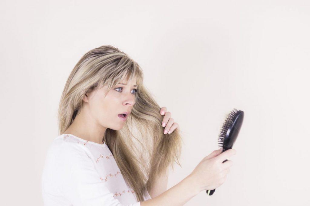 Telogen effluvium sudden baldness