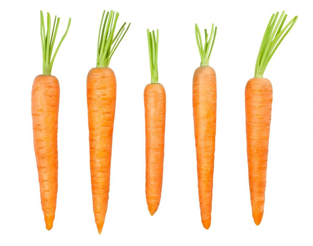 vegetables with carotenoids