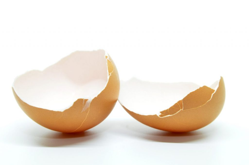 sensitive skin eggshells
