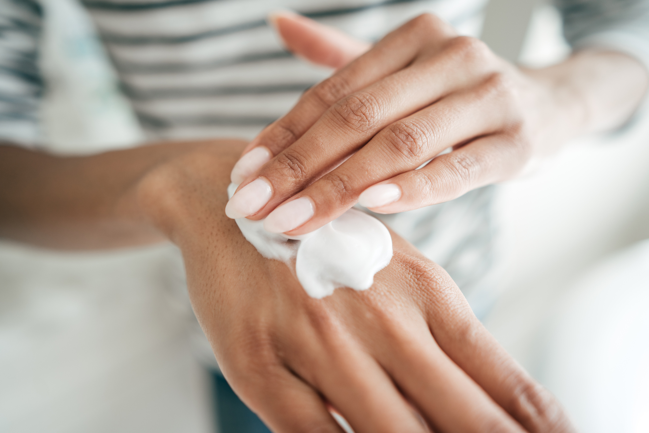 Hand cream for skin and nails