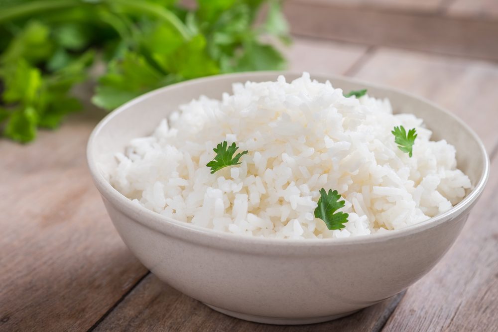 white rice bland diet
