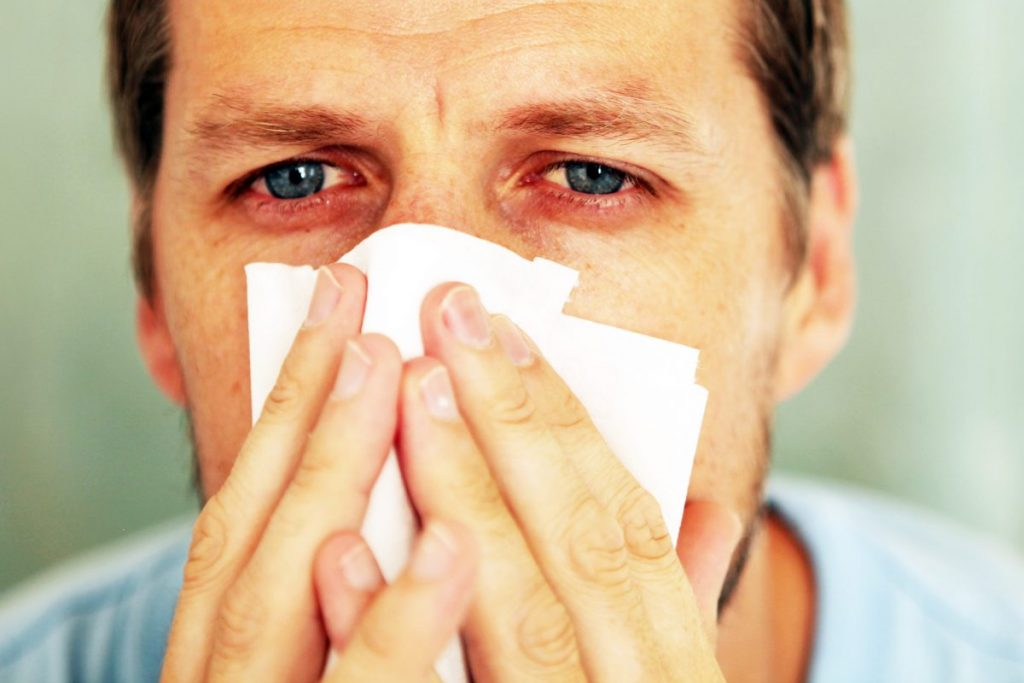 chronic sinisitis blocked sinuses