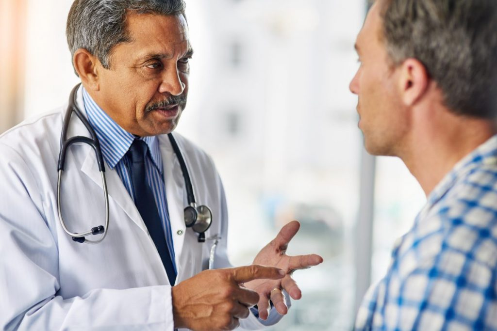 doctor patient advice discussion