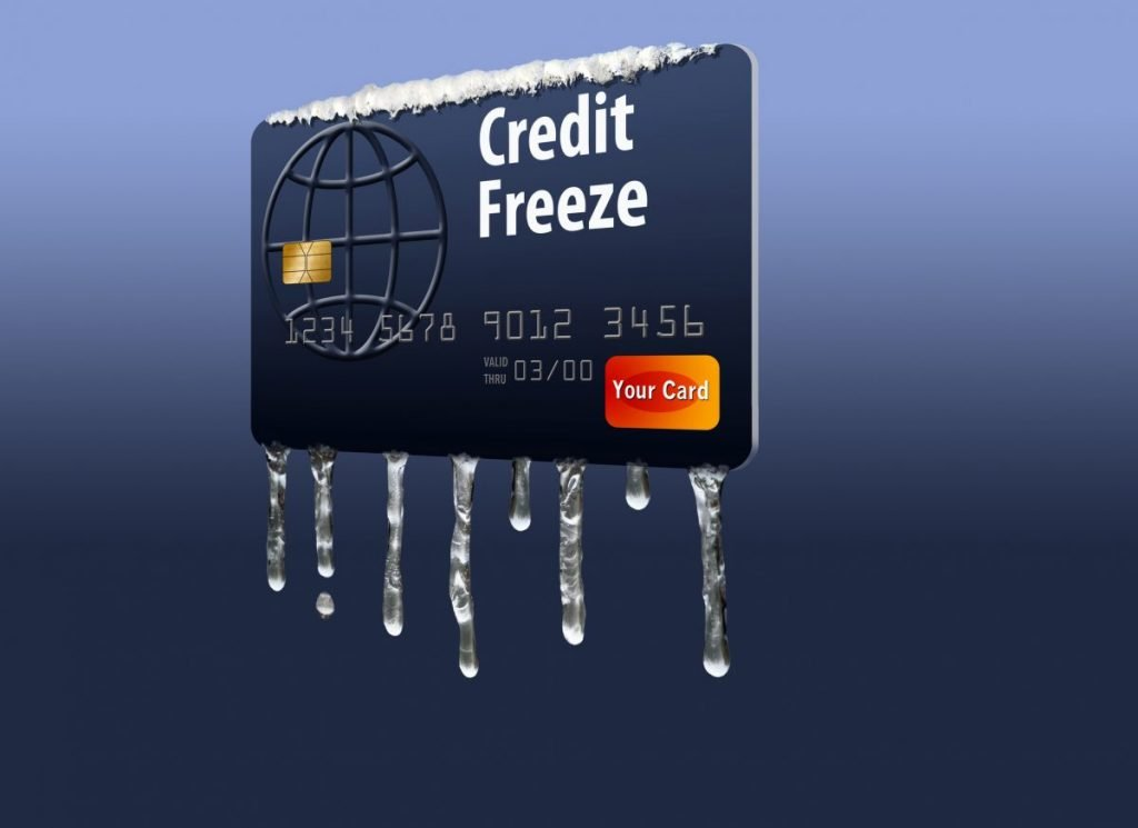 applying for a new card during a credit freeze