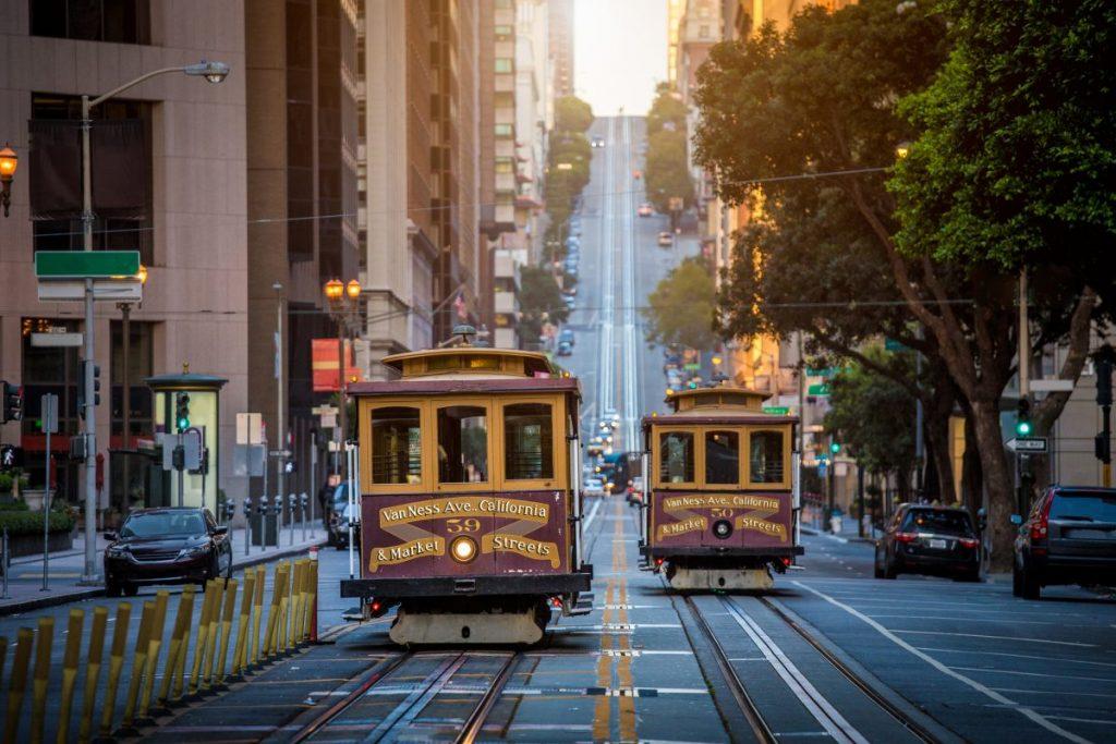 San Francisco visiting