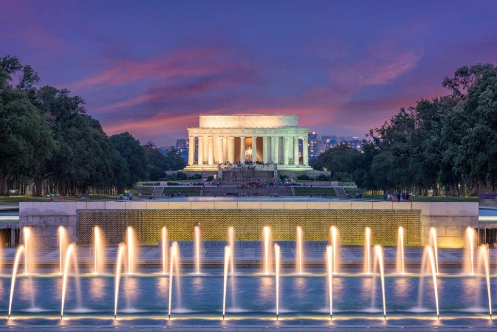 visiting Washington DC