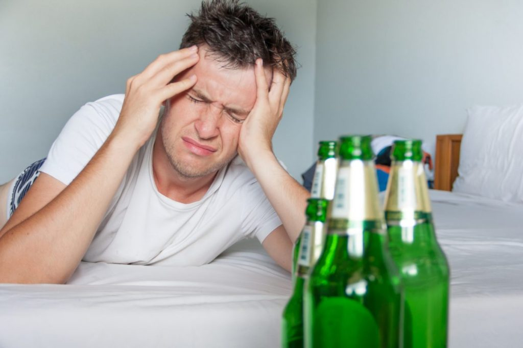 alcohol intoxication hangover acetaldehyde metabolite