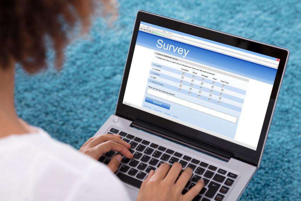 making money using online surveys