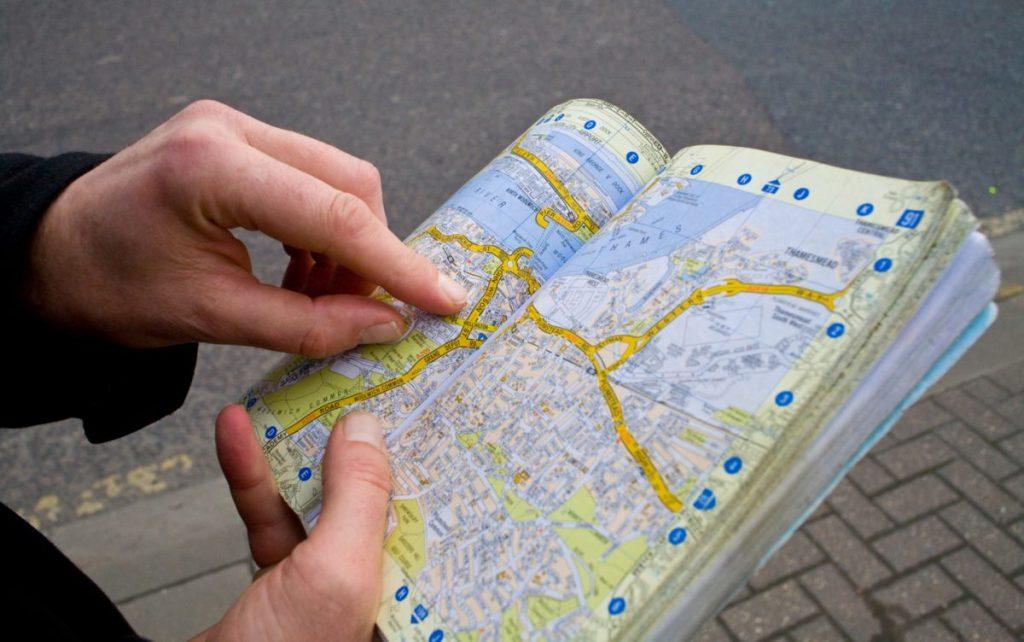 deciding on road trip routes