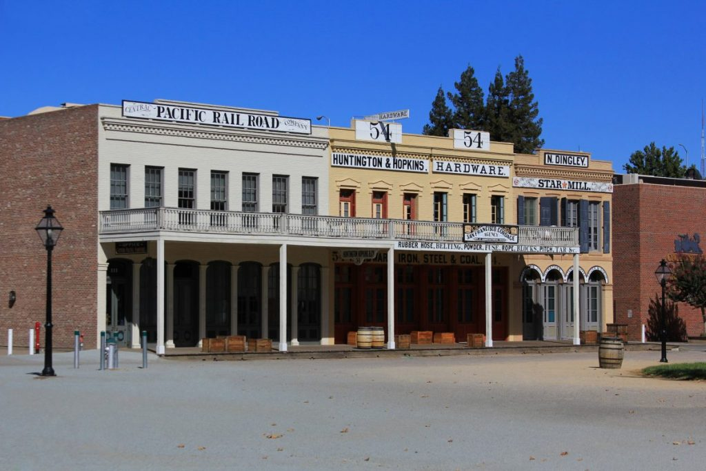 Visiting Old Sacramento