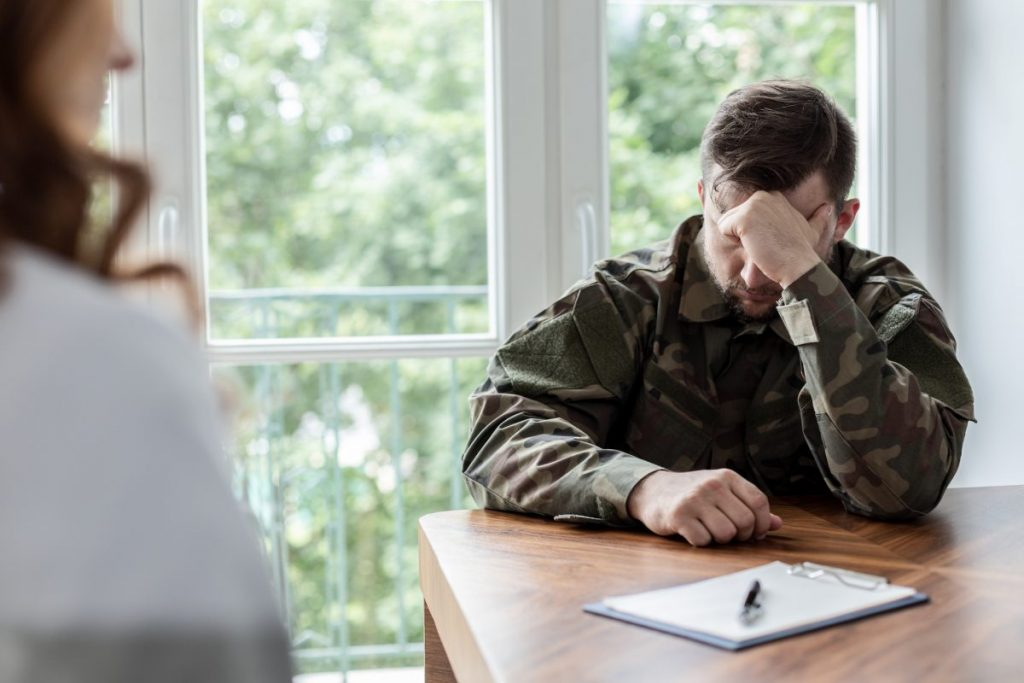 training post-traumatic stress disorder PTSD