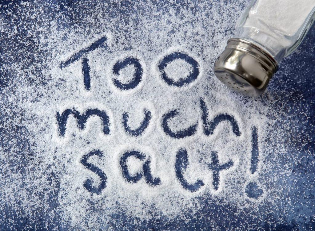 salt hypervolemia