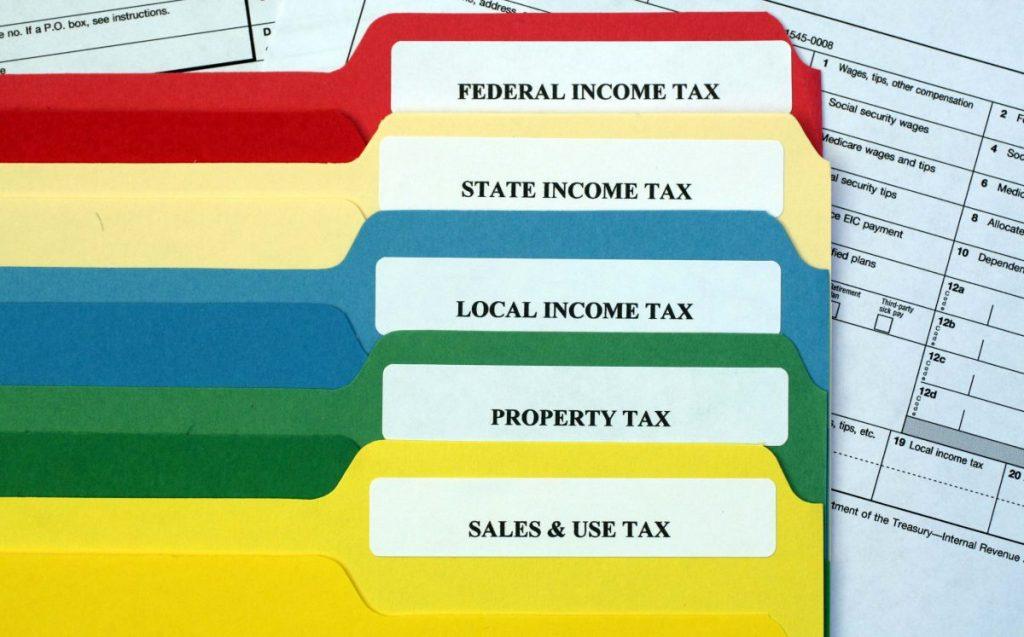 returns using a tax service