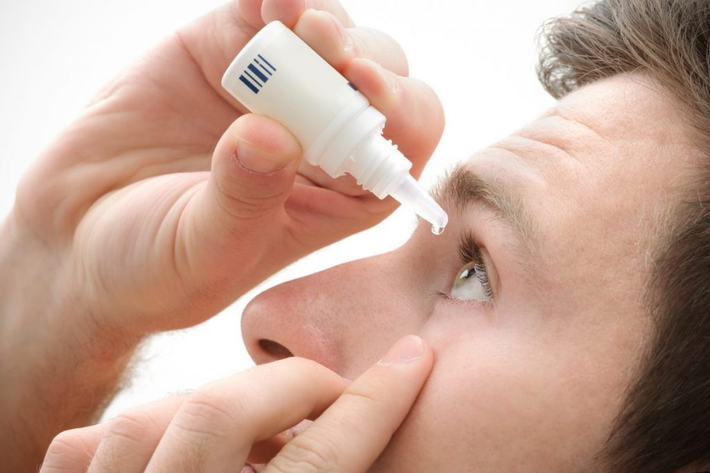 treating inflamed iris