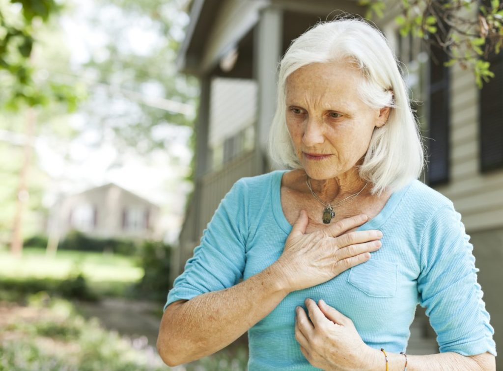 signs of coronary artery disease