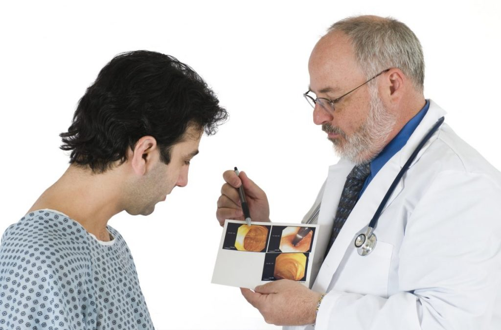 how do doctors test for colon polyps