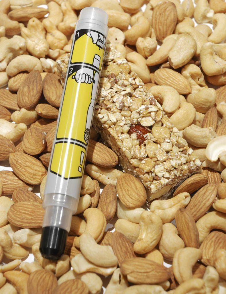 nut allergic reaction