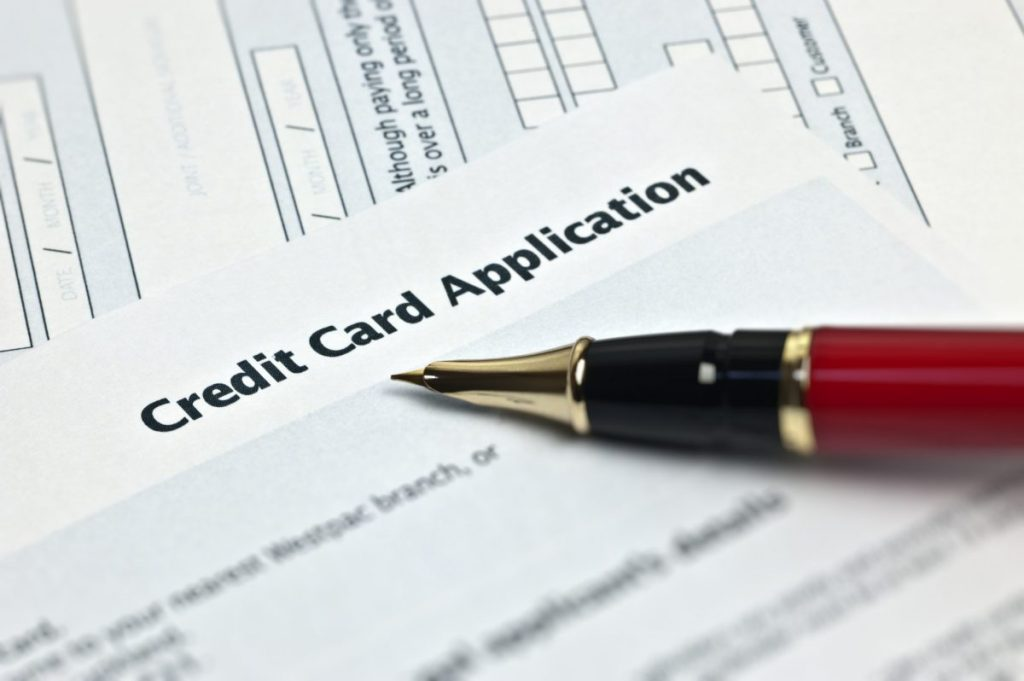 get a credit card application