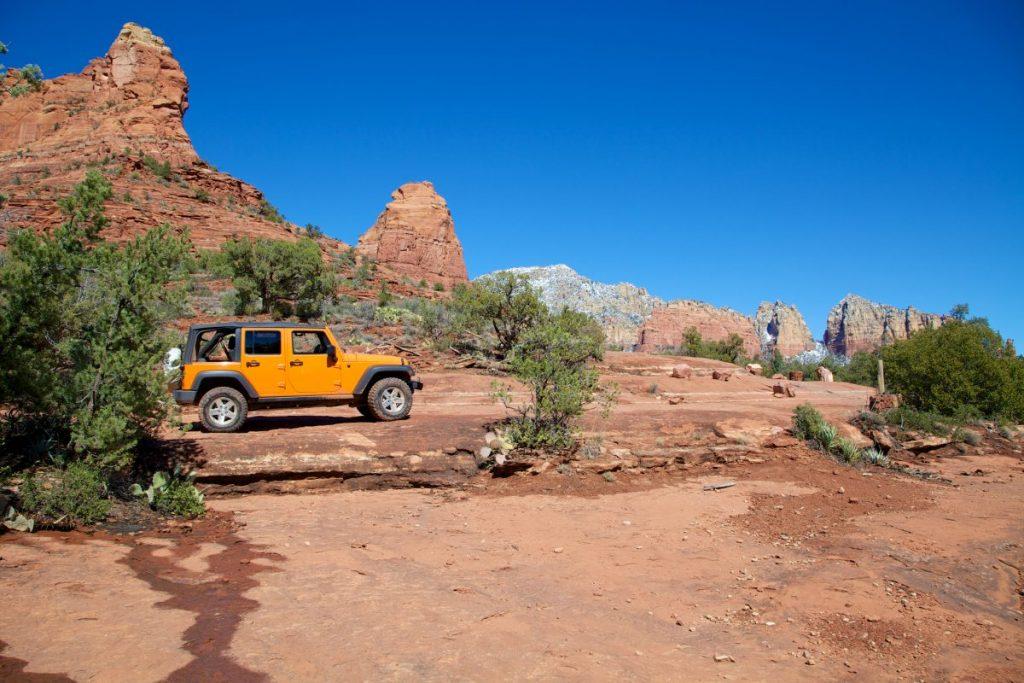 Jeep tour Sedona