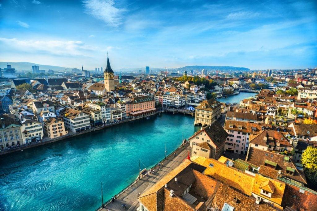 richest countries Switzerland