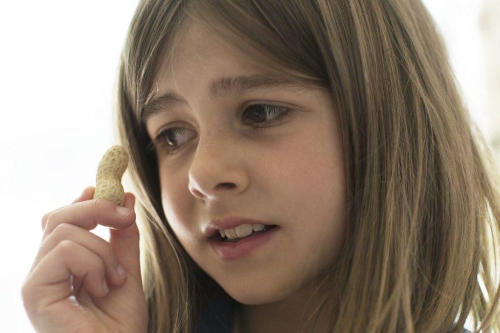 children with nut allergies