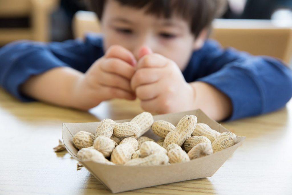 peanut nut allergies