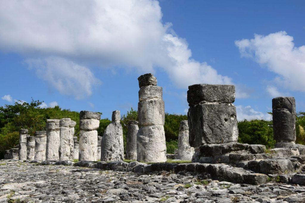 ruins in Cancun