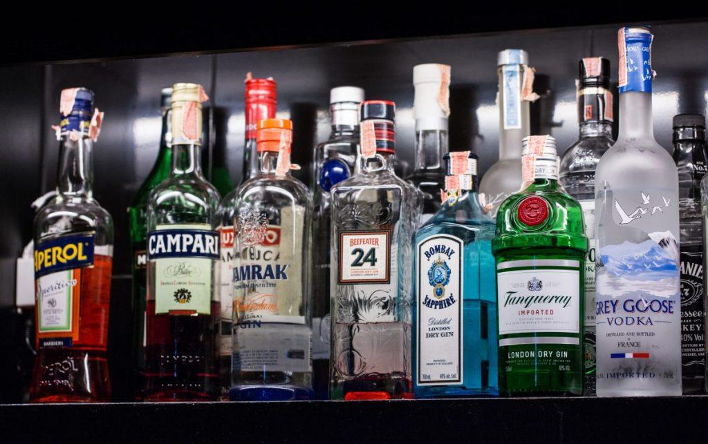 alcohol high acid foods
